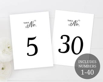 number 1 template printable