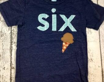 Ice cream party, ice cream shirt, ice cream outfit, boy's birthday outfit, boy's shirt, ice cream invite, ice cream decor, ice cream cone