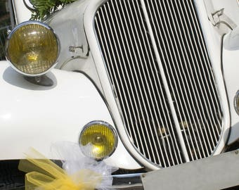 Tulle Bows Car Decoration
