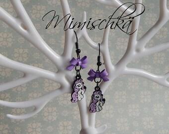 earrings little pony