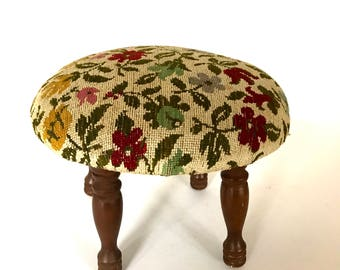 Vintage foot stool / foot rest