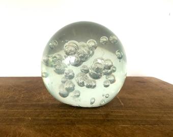 Vintage mid century sphere / orbit / paper weight