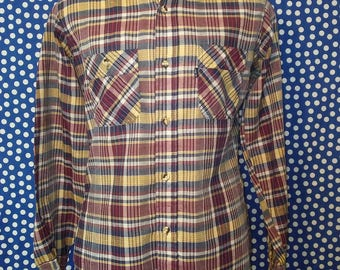 1970's-1980's Levi's button-up shirt, medium