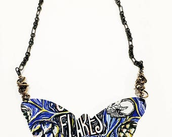 Firefly Hollow Brewing Company Cone Flakes Butterfly Necklace