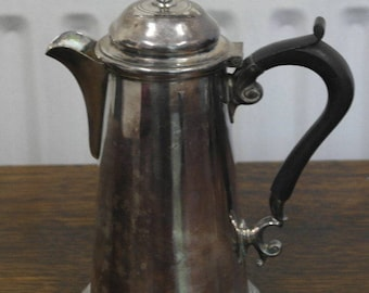 antique silver plate coffee pot water pot