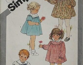 25%off Sizzlin Summer Sal Butterick 5397  1970s 70s Toddler Sailor Dress Vintage Sewing Pattern Size 2