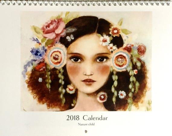 2018 Calendar Nature Child