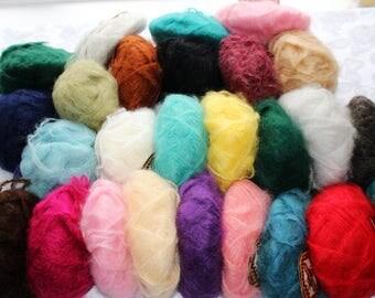 Luxury Mohair Yarn Spain Ardilla Soft Natural Best Wool Mohair Yarn For Knitting Kid Mohair Silk Mohair Art Yarn Crocheting Angora Yarn