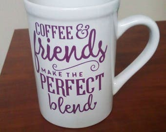 Coffee and Friends Mug