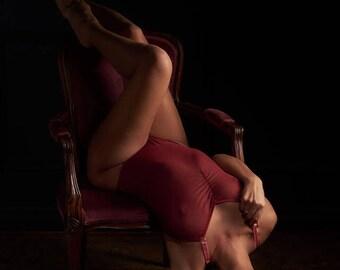 Bodysuit, Sheer stretch mesh Lingerie, Erotic gift, Wife, Girlfriend, Lover, Fiancee
