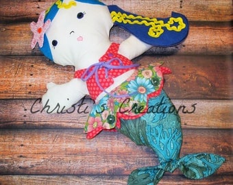 Marissa the Learning Mermaid doll - Custom order