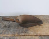 Vintage Copper Scoop
