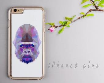 Gorilla iPhone 6 plus case, Clear iPhone 6s plus Plastic case, iPhone 6s PC cover - HTPC6P16