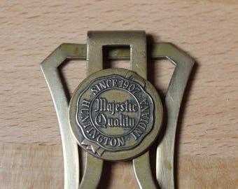 Vintage Money Clip - Men's Money Clip - Huntington Indiana