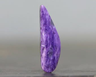 Charoite Doublet AAA Fine Gemstone, Superb Quality Russian Cabochon (CA9188)