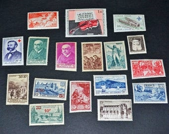 France 34 Mint stamps
