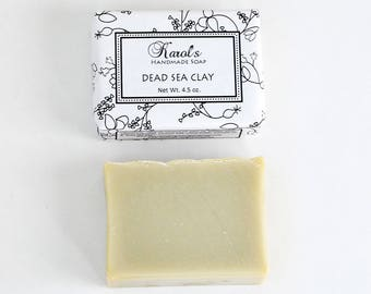 DEAD SEA CLAY Unscented Handmade Soap