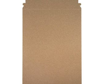 """11"""" x 13.5"""" - Self Seal Rigid Mailer - 100% Recycled - Case of 100"""