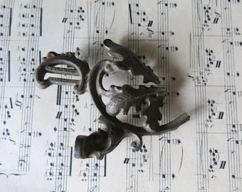 Antique cast iron ornament