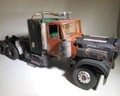 War Hammer,Kenworth Truck,ScaleModel Truck,Tractor Trailer,Steampunk