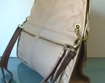 Lucky Brand X Large Leather Shoulder Bag