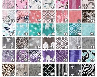 Custom Minky Blanket, personalized blanket, Minky Blanket, baby boy, chevron minky, personalized minky blanket, personalized wedding gift