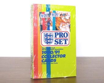1990 1991 Soccer Pro Set Football Association Collectors Cards Trading NIB