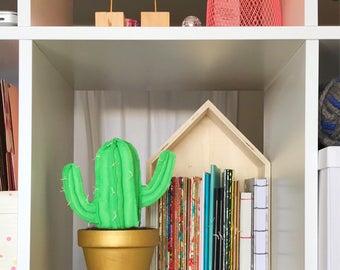 Mini Saguaro Felt Cactus