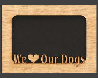 5x7 Dog Picture Frame Mat Insert for Frame - Dog Paw - Dog Photo Frame - Pet Gift - Use for Pet Memorial - Dog Photo Frame