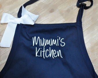 Personalized Aprons, Monogrammed Aprons, Custom Embroidered Aprons, Chef Apron Personalized, Gift for Dad