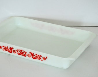 Pyrex Lasagna Pan- Friendship Pattern- Harder to Find