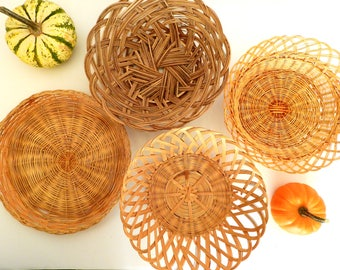 Instant Wall Basket Collection- Bohemian- Jungalow Decor