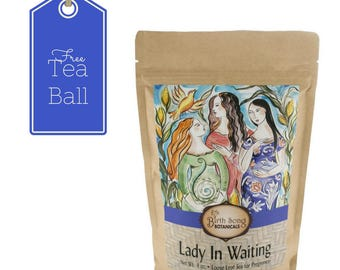 Herbal Pregnancy Tea- Lady In Waiting Loose Leaf 4 oz.