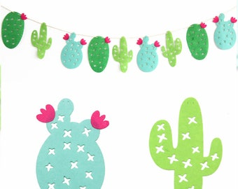 Fiesta Cactus Garland