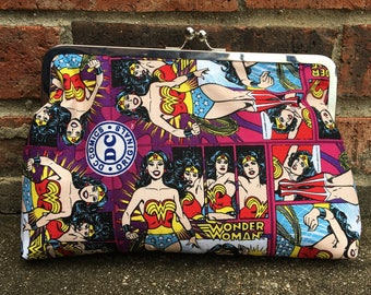 Wonder Woman Large Clutch Bag