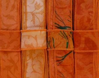 12 Yards of Silk Trim, 4 colors, C88