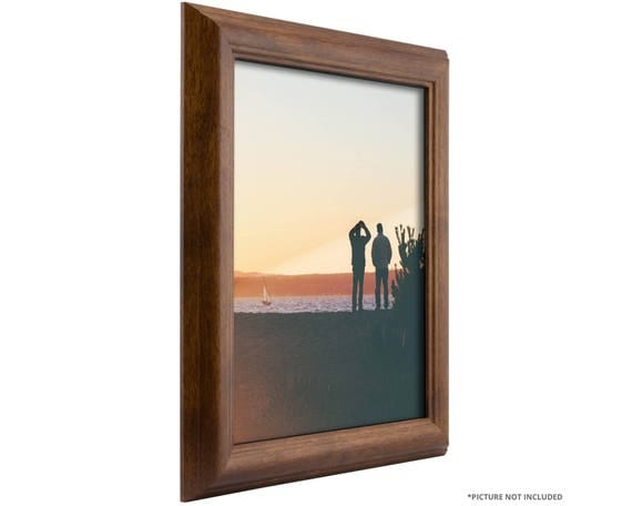 Craig frames 12x18 inch canadian walnut cottage style for Bungalow style picture frames