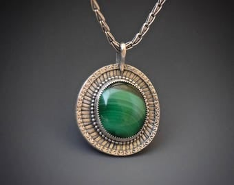 Reserved: Installment for Malachite Necklace