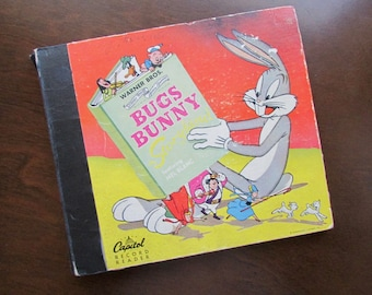 Capitol Record Reader Bugs Bunny in Storyland featuring Mel Blanc ©1949