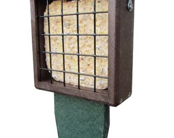 Recycled Single Suet Feeder