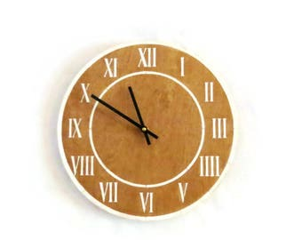 Large Modern Clocks, Roman Numeral Clock, Home and Living, Home Decor, Decor and Housewares
