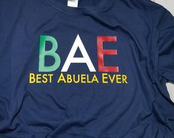 Best Abuela Ever Shirt
