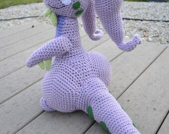 Pokemon X Y Goodra Dragon Plush Crochet Pattern PDF