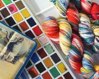100g Australian Sock Yarn - Paintbox