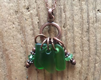 LakeSjuperior Beach Glass Necklace