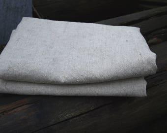 Linen Bath Towel Natural Grey Sauna Towel Spa Towel Washed Vintage Look