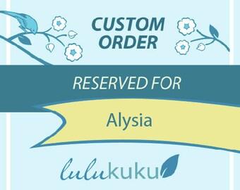 Custom Listing for Alysia - 12 Elephants Wall Decals