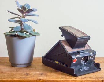 Polaroid SX-70 Alpha 1, SX-70, SX-70 Land Camera, Alpha 1, Instant Film, Land Camera, 1970's, Polaroid, Polaroid Camera, Film Camera, Rustic