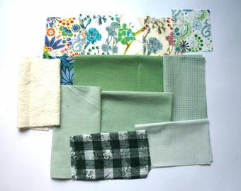set of fabrics for patchwork 246 coupons
