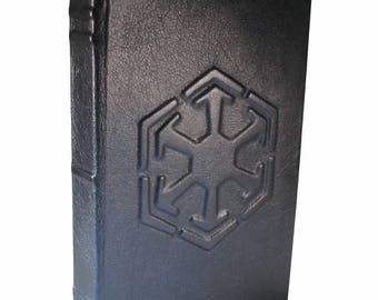 Star Wars Sith Empire - Hand Bound Black Leather Journal or Sketchbook